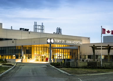 Fort St. John hospital front view