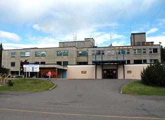Bulkley Valley District Hospital in Smithers, BC