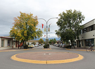 Smithers, main street.