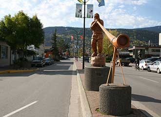 Downtown Smithers, BC