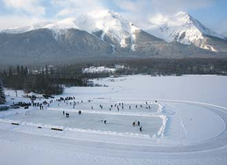 Winter activities in Smithers, BC