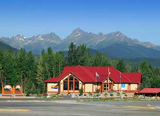 Visitors Information Centre in Valemount, BC
