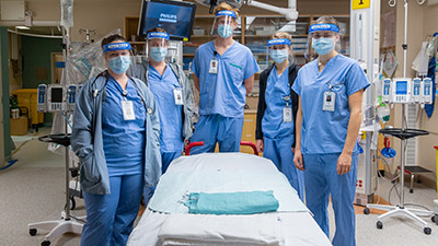Operating room team at a Northern Health hospital